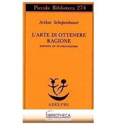 ARTE DI OTTENERE RAGIONE ESPOSTA IN 38 STRATAGEMMI (