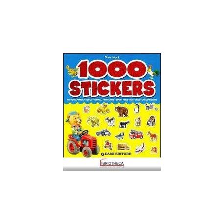 1000 STICKERS. EDIZ. ILLUSTRATA